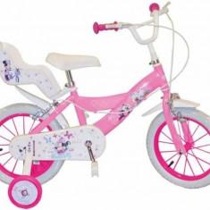 Bicicleta 14 inch Minnie Mouse Club House Toimsa - Bicicleta copii Toimsa, Roz
