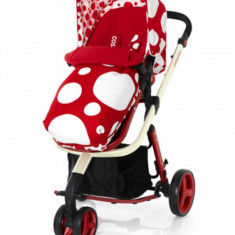 Carucior sistem 2 in 1 Giggle Red Bubbles Cosatto - Carucior copii 2 in 1 Cosatto, Verde