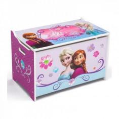 Ladita din lemn pentru depozitare jucarii Disney Frozen Delta Children