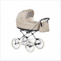 Carucior copii 2 in 1 Marita Prestige Deluxe S152 (Bej) Roan, Roz