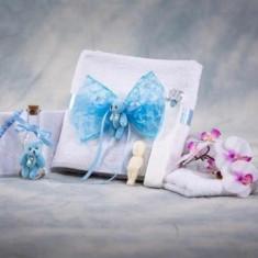 Trusou botez Collection Sweet & Simple Blue Nikos