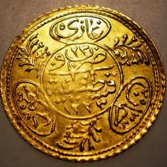 D.042 TURCIA MAHMUD II 1 HAYRIYE ALTIN 1223/23/1830 AUR 1, 76g, Europa
