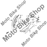 MBS Carena far dreapta Honda CB600F ABS, culoare galben perlat, #2, Cod Produs: 64214MFGD00ZJHO