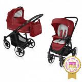 Carucior multifunctional 2 in 1 Lupo Comfort Dark Red Baby Design - Carucior copii 2 in 1