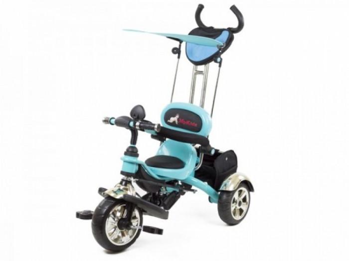 Tricicleta pentru Copii Luxury KR01 Albastru MyKids foto mare