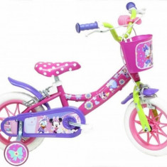 Bicicleta Minnie 12 inch Denver - Bicicleta copii DENVER, Otel, Roz