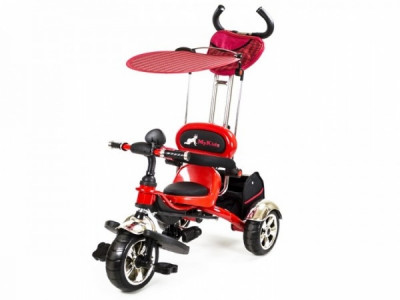 Tricicleta pentru Copii Luxury KR01 Rosu MyKids foto
