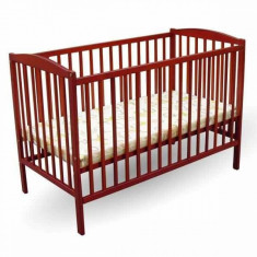 Patut copii Colour 120 x 60 cm Cires First Smile - Patut lemn pentru bebelusi First Smile, Maro