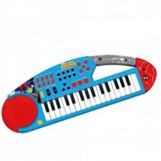 Orga electronica cu microfon Spiderman Reig Musicales - Instrumente muzicale copii