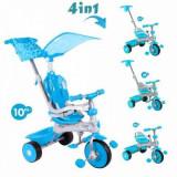 Tricicleta 4 in 1 Deluxe Aqua Baby Trike - Tricicleta copii