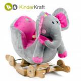 Balansoar cu roti 2 in 1 cu sunete Elephant KinderKraft
