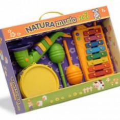 Set Xilofon tamburina cu saxofon si maracas Reig Musicales - Instrumente muzicale copii