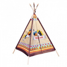 Cort de joaca indian Yakari Wigwam Knorrtoys - Casuta copii