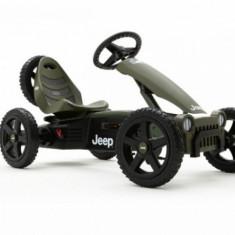 Kart Jeep Adventure Berg Toys - Kart cu pedale