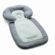 Husa cu tetiera bebelusi R85 (Gri) Jane