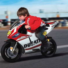 Motocicleta copii Ducati GP Peg Perego - Masinuta electrica copii Peg Perego, Rosu
