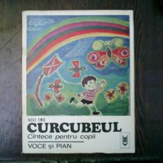 Curcubeul cantece pentru copii voce si pian - Vasile Timis