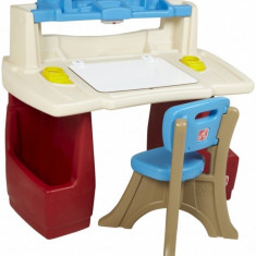 Masuta birou Deluxe Art Master Step 2 - Masuta/scaun copii