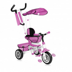Tricicleta B301B Pink White Bertoni - Tricicleta copii