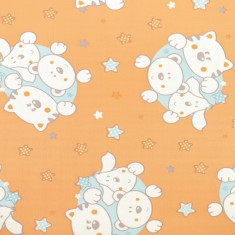 Blat de infasat Jolly Portocaliu Plebani - Masa de infasat copii