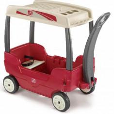 Carucior copii Canopy Wagon Step 2 - Casuta copii Step 2, Rosu, Plastic