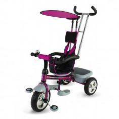 Tricicleta multifunctionala Scooter Plus 117 Violet DHS - Tricicleta copii