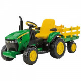 Tractor electric John Deer Ground Force Peg Perego - Masinuta electrica copii