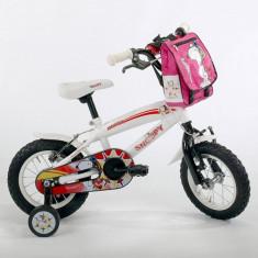 Bicicleta Snoopy Aviator 12 inch Ironway - Bicicleta copii