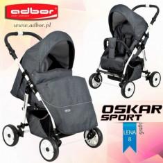 Carucior sport Oskar Sport lena 8 (Graphite) Adbor - Carucior copii Sport