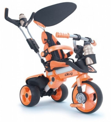 Tricicleta copii City Orange Injusa foto