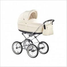 Carucior copii 2 in 1 Marita Prestige Deluxe S151 (Crem) Roan, Roz