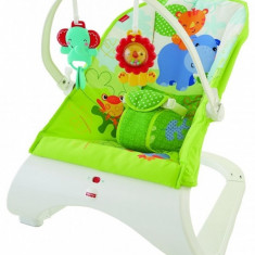 Balansoar Rainforest Friends Comfort Curve Fisher Price - Balansoar interior Fisher Price, Multicolor