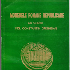 5.Carte:Monedele romane republicane colectia Orghidan foto 352 buc denari argint