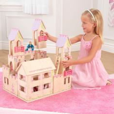 Casuta pentru papusi Princess Castle - KidKraft, Multicolor