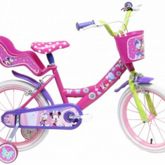 Bicicleta Minnie 16 inch Denver - Bicicleta copii DENVER, Roz
