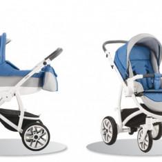 Carucior 3 in 1 Torino SL38 (Albastru cu Gri deschis) Bebetto - Carucior copii 3 in 1