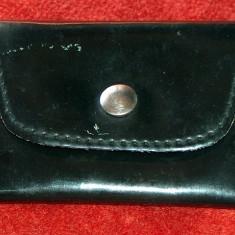 Portchei din piele şi cu lanţ - vintage - Portofel Dama, Culoare: Din imagine