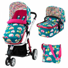 Carucior sistem 2 in 1 Giggle Happy Campers Cosatto - Carucior copii 2 in 1