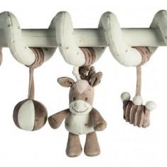 Spirala cu jucarii din plus Calutul Noa - Jucarie carucior copii