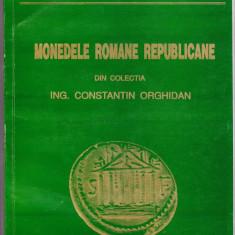 4.Carte:Monedele romane republicane colectia Orghidan foto 352 buc denari argint - Arheologie