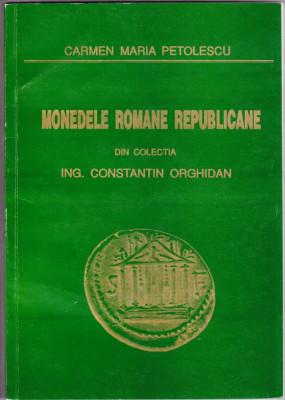 4.Carte:Monedele romane republicane colectia Orghidan foto 352 buc denari argint foto