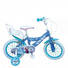 Bicicleta 12 inch Frozen Toimsa - Bicicleta copii Toimsa, Albastru