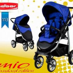 Carucior sport Mio Standard 113 (Negru cu Albastru) Adbor - Carucior copii Sport