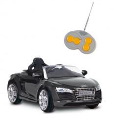 Masinuta electrica Audi R8 Spyder Black Biemme - Masinuta electrica copii