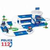Garaj pentru politie 3D Kid Cars 3,8 m Wader