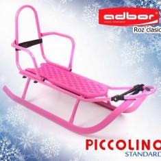 Saniuta pentru copii Piccolino Simply Roz Adbor - Sanie
