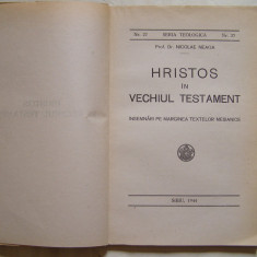 Hristos in Vechiul Testament, Sibiu, 1944 - Carti bisericesti