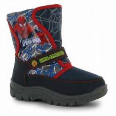 Cizme pentru zapada Spiderman 31 Character - Cizme copii Character, Baieti, Textil, Bleumarin