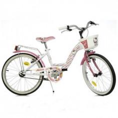 Bicicleta Hello Kitty 20 inch Dino Bikes - Bicicleta copii