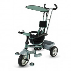 Tricicleta multifunctionala Scooter Plus 117 Verde DHS - Tricicleta copii